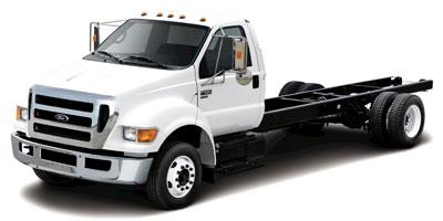 2013 Ford Super Duty F-650 Pro Loader Gas Reg Cab XLT