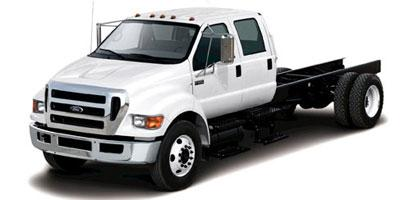2013 Ford Super Duty F-650 Pro Loader Gas Crew Cab XL