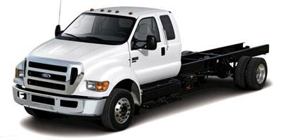 2013 Ford Super Duty F-650 Straight Frame Gas SuperCab XLT